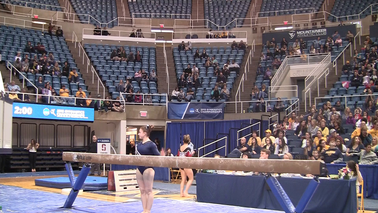 BB-Kayla Gray 9 85 at NCAA Regionals WVU 4 4 15