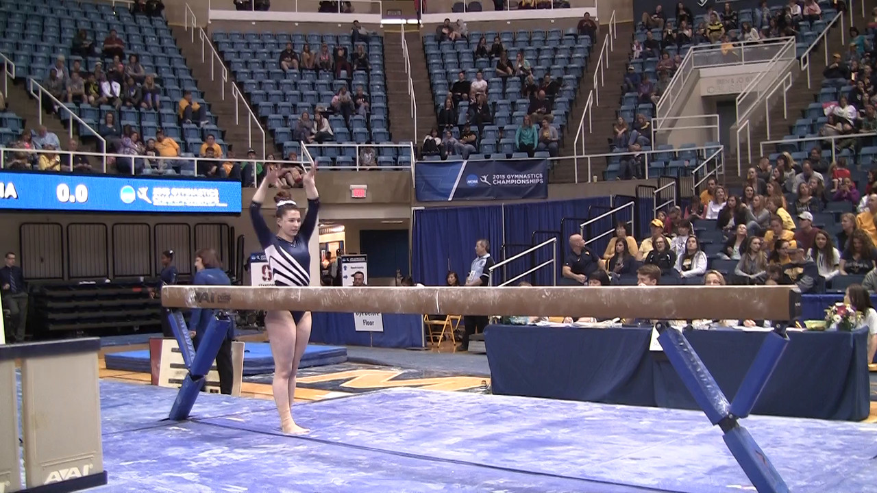 BB-Lia Breeden 9 85 at NCAA Regionals WVU 4 4 15