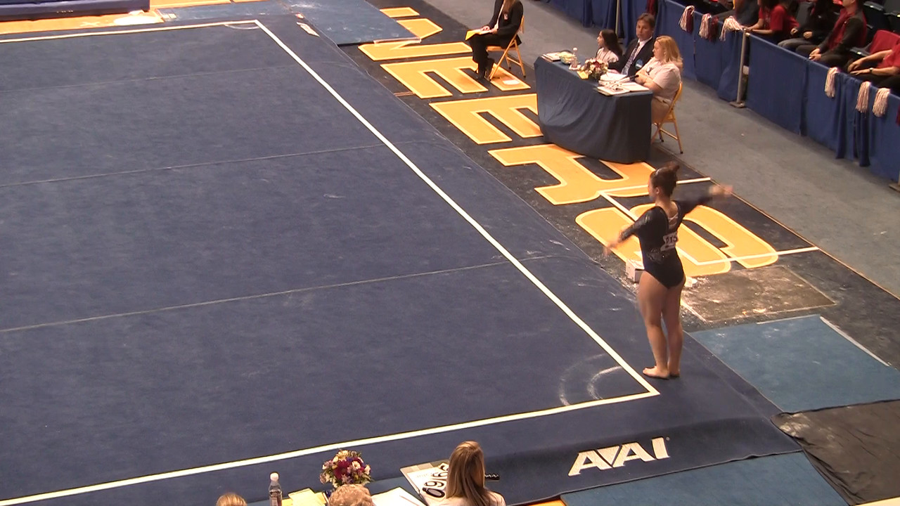 FX-Marissa Toci 9 675 at NCAA Regionals WVU 4 4 15