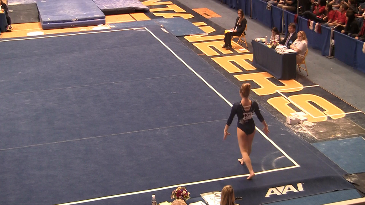 FX-Kelsey Aucoin 9 775 at NCAA Regionals WVU 4 4 15