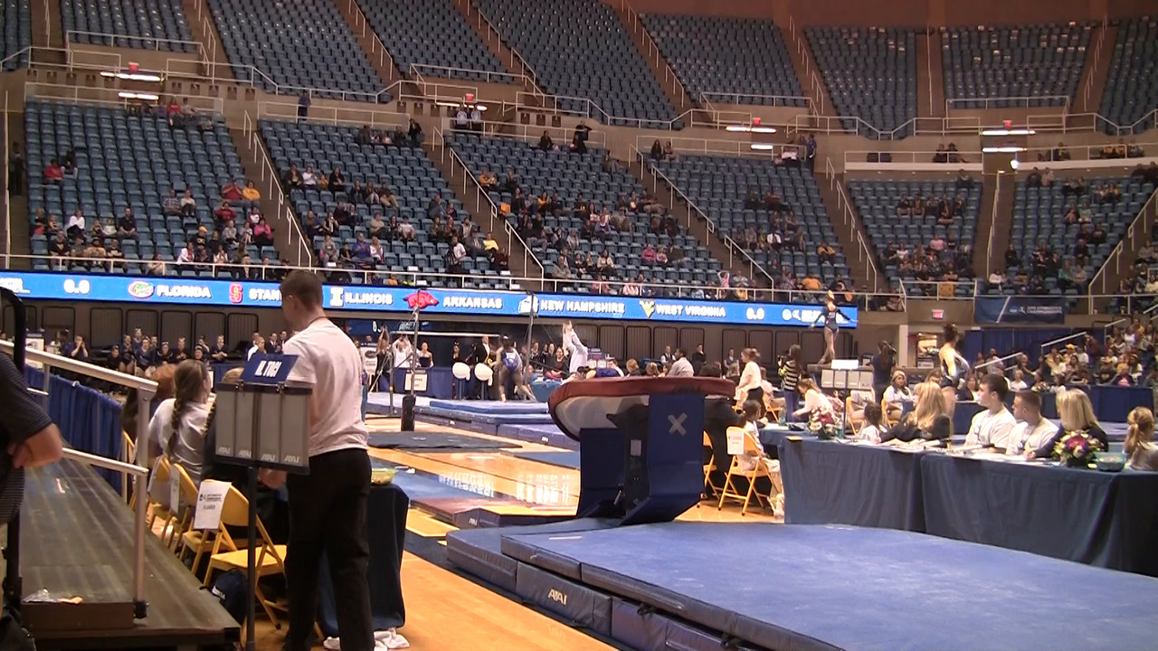 V-Marissa Toci x9 125 at NCAA Regionals WVU 4 4 15