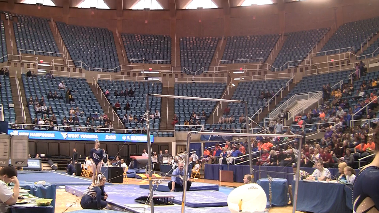UB-Makenzie Kerouac 9 725 at NCAA Regionals WVU 4 4 15