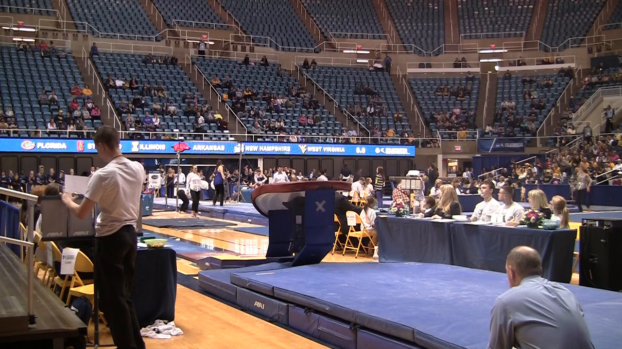 V-Kelsey Aucoin 9 65 at NCAA Regionals WVU 4 4 15