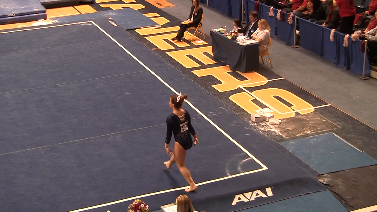 FX-Meghan Pflieger 9 675 at NCAA Regionals WVU 4 4 15