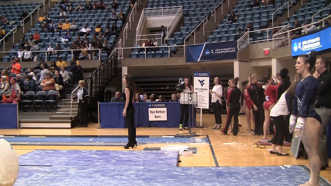 UB-Erika Rudiger 9 45 at NCAA Regionals WVU 4 4 15